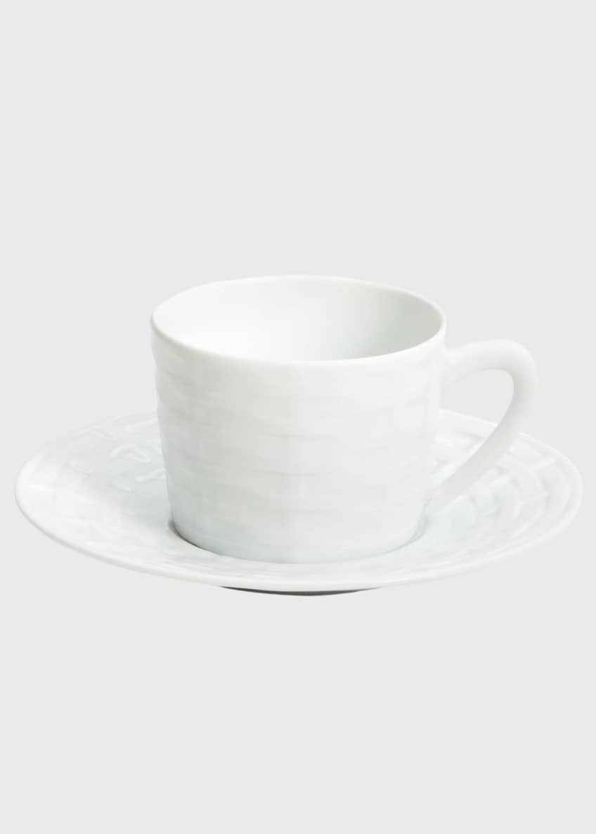 Image 1 of 1: Belcourt Tea Cup and Saucer