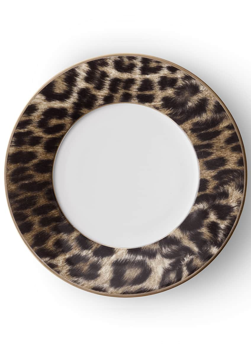 Image 1 of 1: Hutchinson Leopard Salad Plate