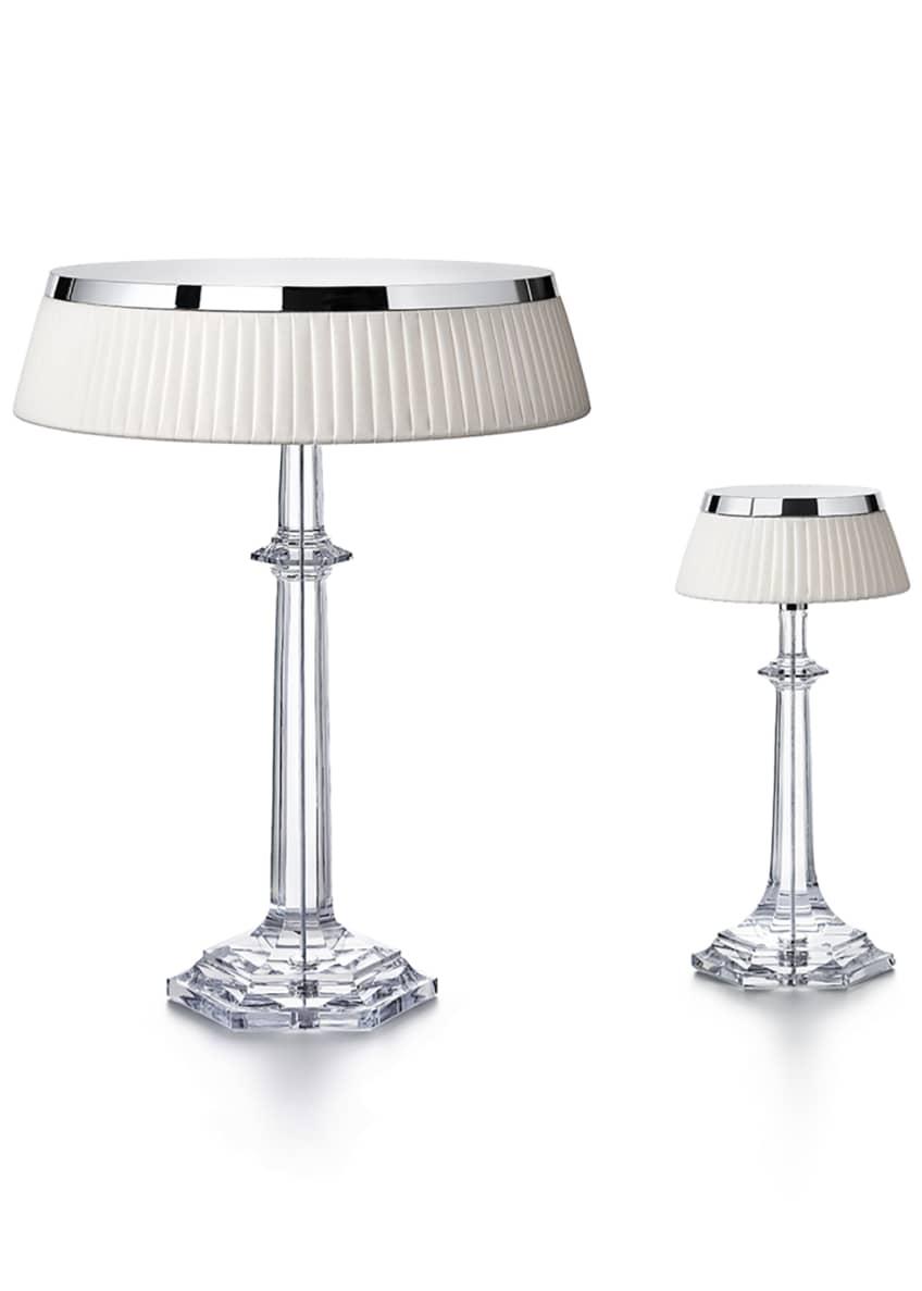Image of: Baccarat Bon Jour Versailles Small Crystal Table Lamp Bergdorf Goodman