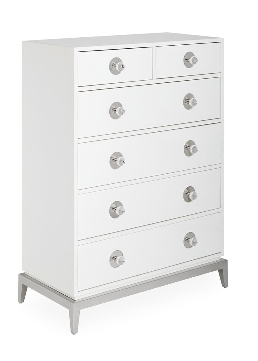 Image 4 of 5: Channing 6-Drawer Tall Dresser