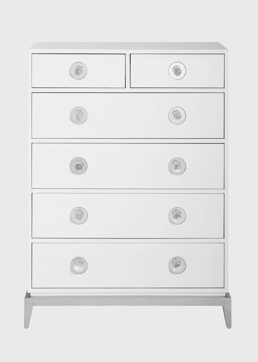 Image 1 of 5: Channing 6-Drawer Tall Dresser