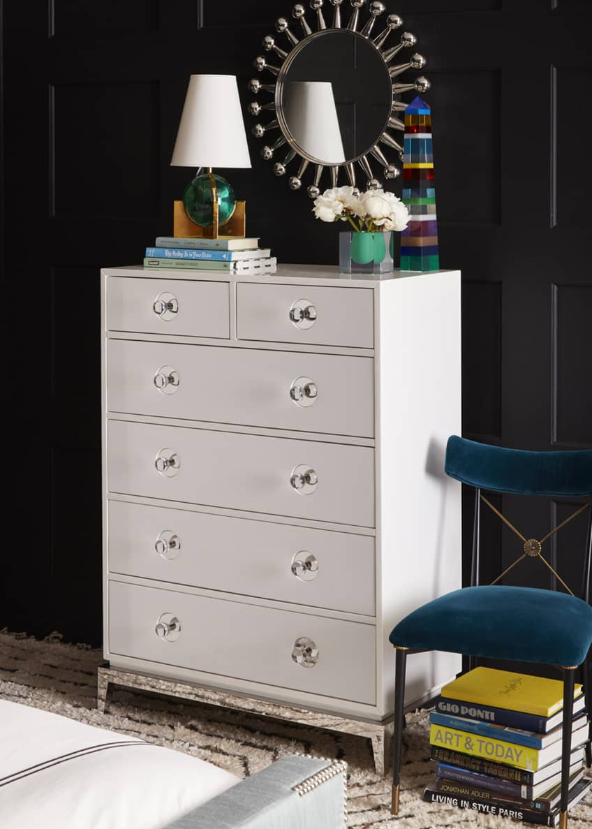 Image 5 of 5: Channing 6-Drawer Tall Dresser