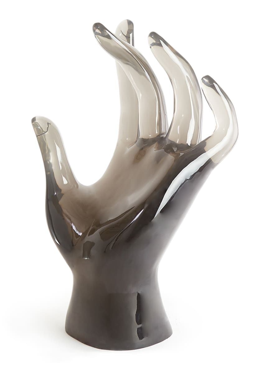 Image 3 of 4: Acrylic Giant Hand Sculpture