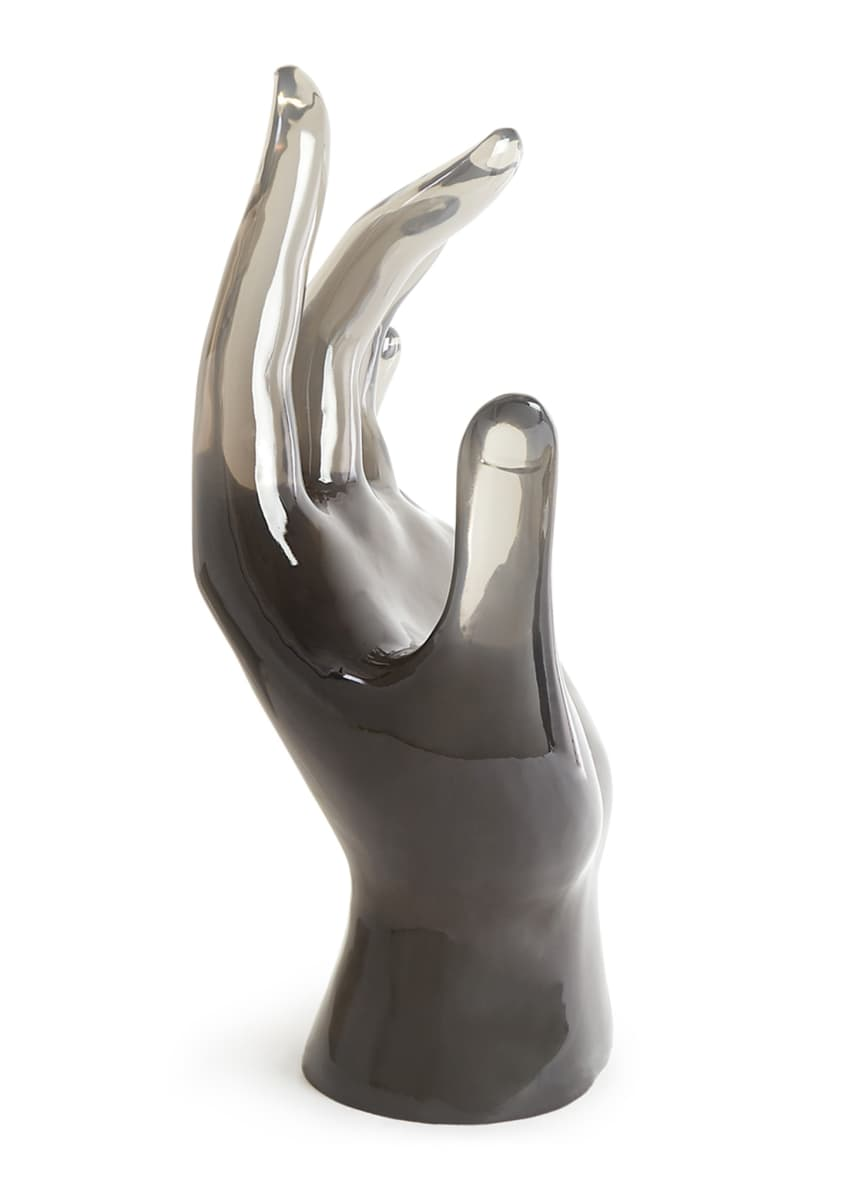 Image 4 of 4: Acrylic Giant Hand Sculpture