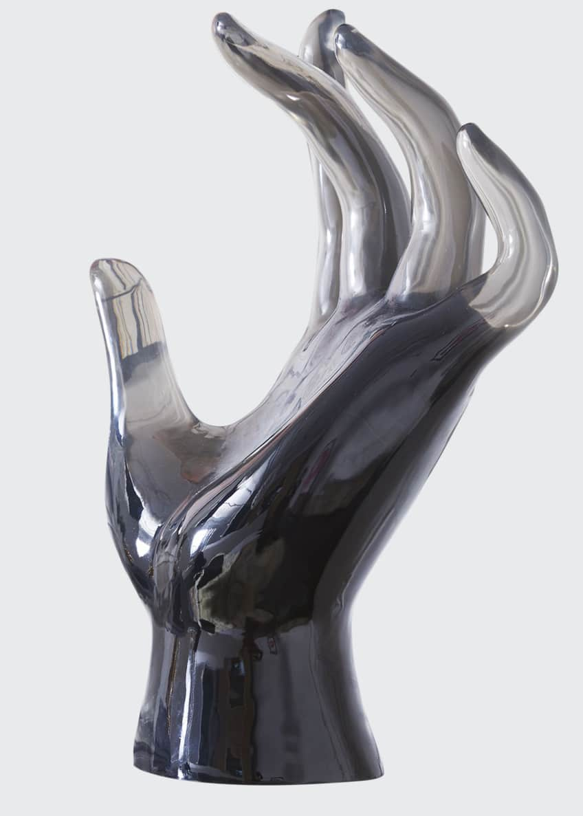 Image 1 of 4: Acrylic Giant Hand Sculpture