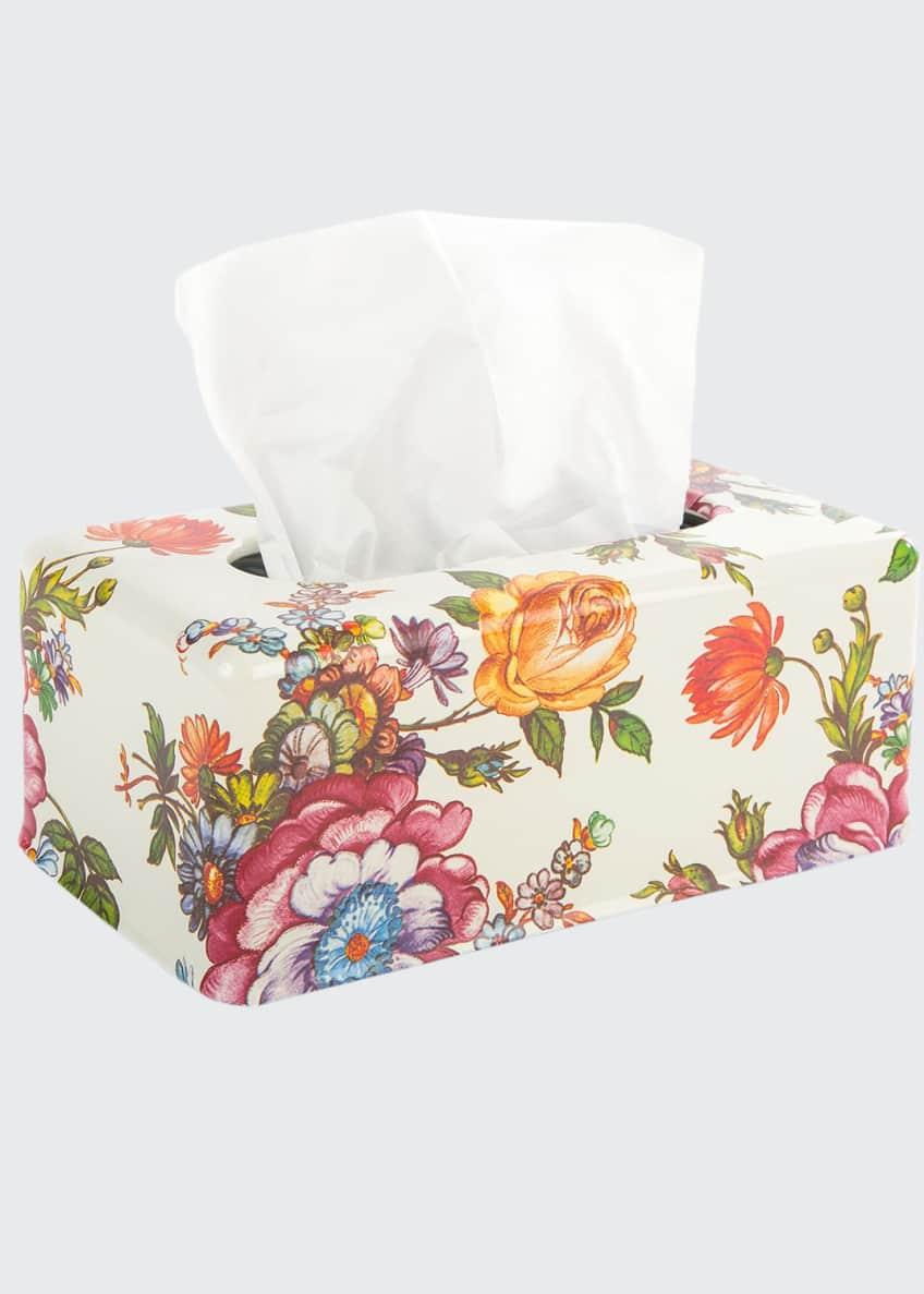 MacKenzie-Childs Flower Market Standard Tissue Box Holder
