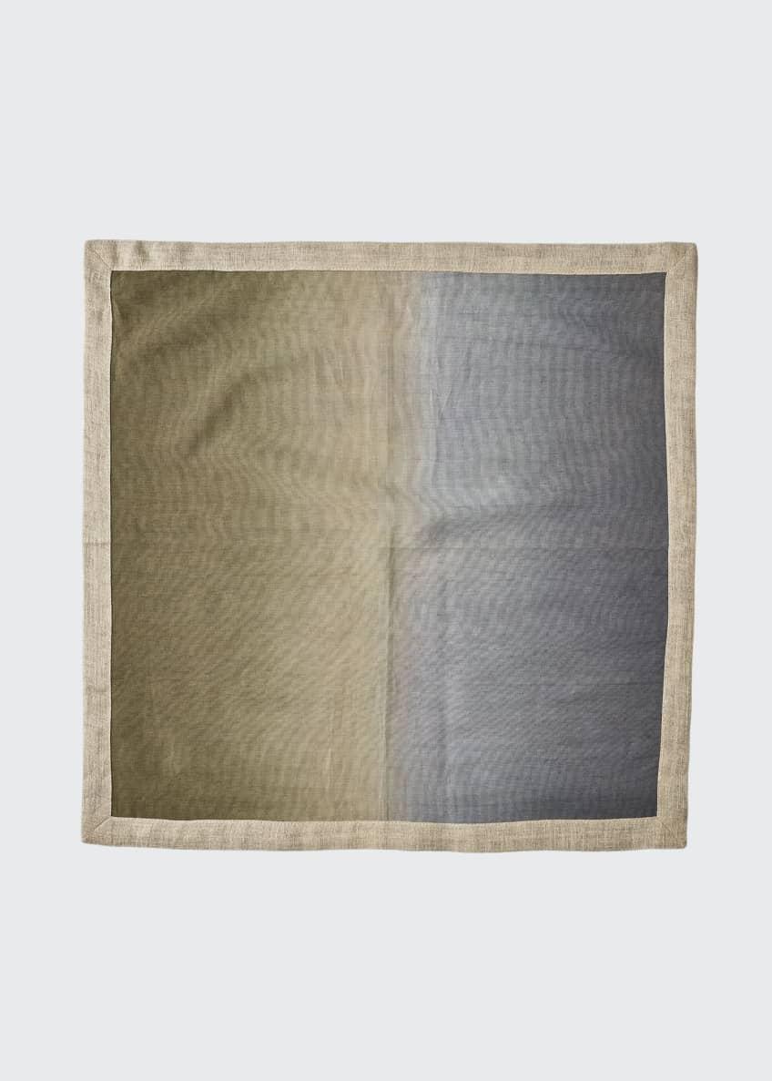 Kim Seybert Dip-Dye Linen Napkin, Neutral