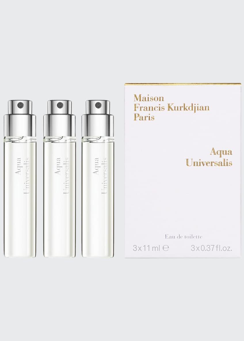 Maison Francis Kurkdjian Aqua Universalis Eau de Toilette Travel Spray Refills, 3 x 0.37 oz./ 11 mL - Bergdorf Goodman