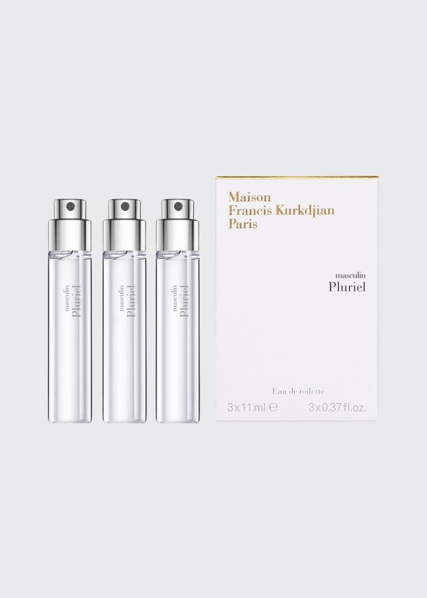 Maison Francis Kurkdjian masculin Pluriel Eau de Toilette Travel Spray Refills, 3 each 0.37 oz./ 11 mL - Bergdorf Goodman