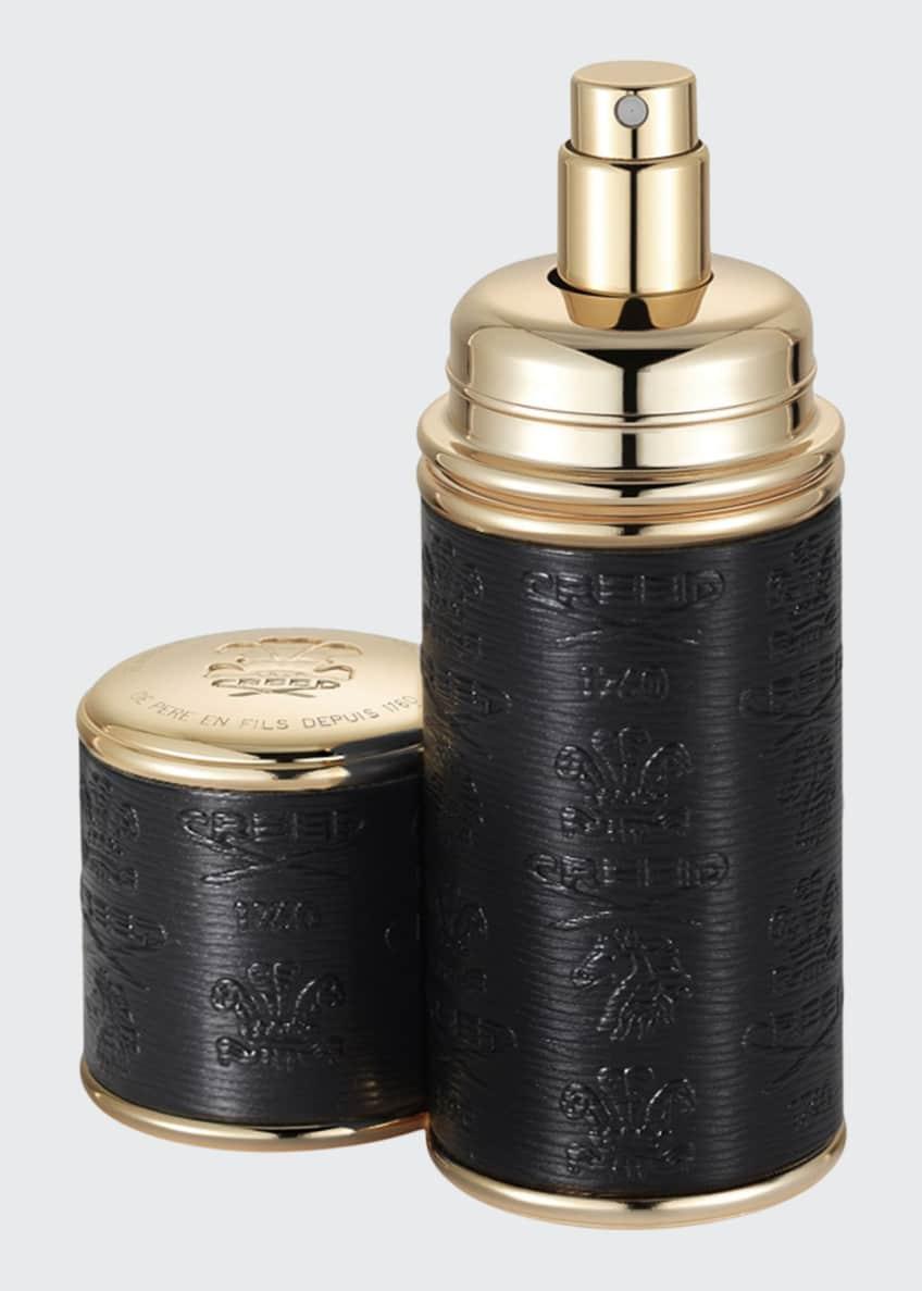 CREED 1.7 oz. Gold Trim/Black Leather Atomizer - Bergdorf Goodman