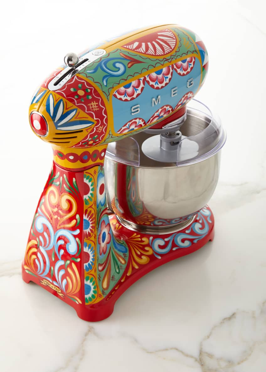 Image 2 of 2: Dolce Gabbana x SMEG Sicily Is My Love Stand Mixer