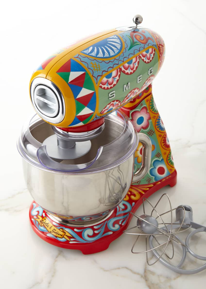 Image 1 of 2: Dolce Gabbana x SMEG Sicily Is My Love Stand Mixer