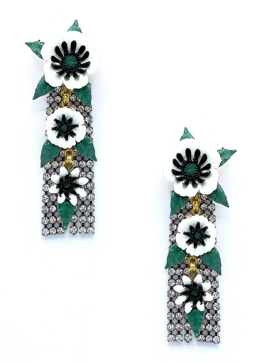 Elizabeth Cole Donovan Dangle Earrings