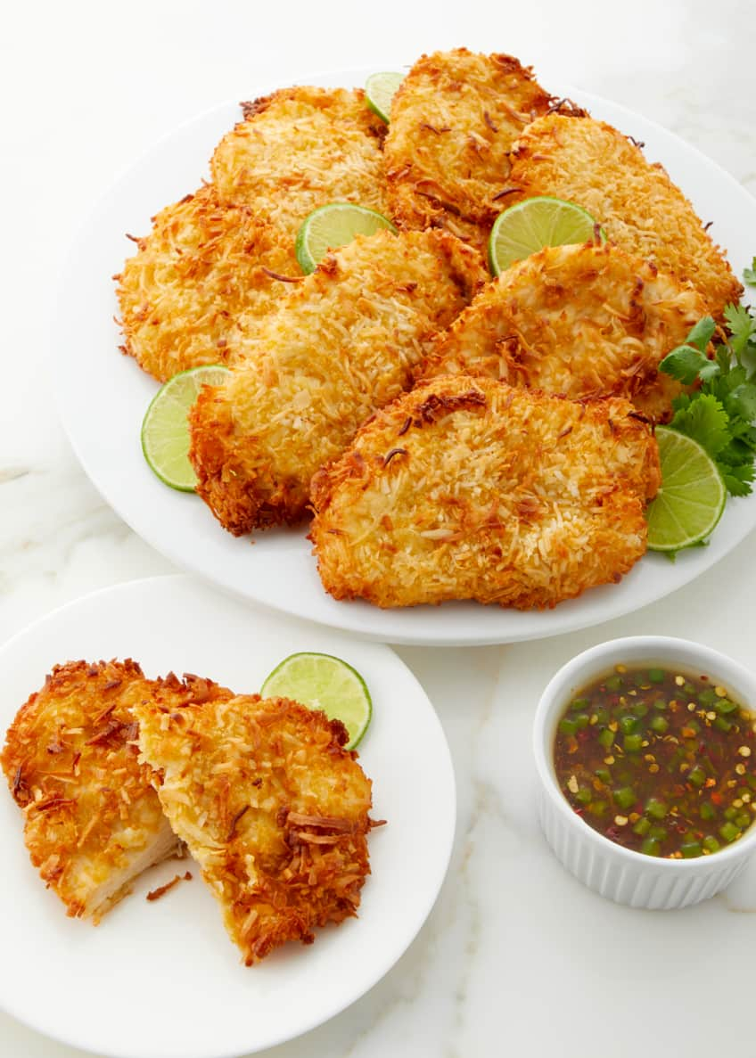 Culinaire Coconut Crusted Chicken Breasts, Set of 8