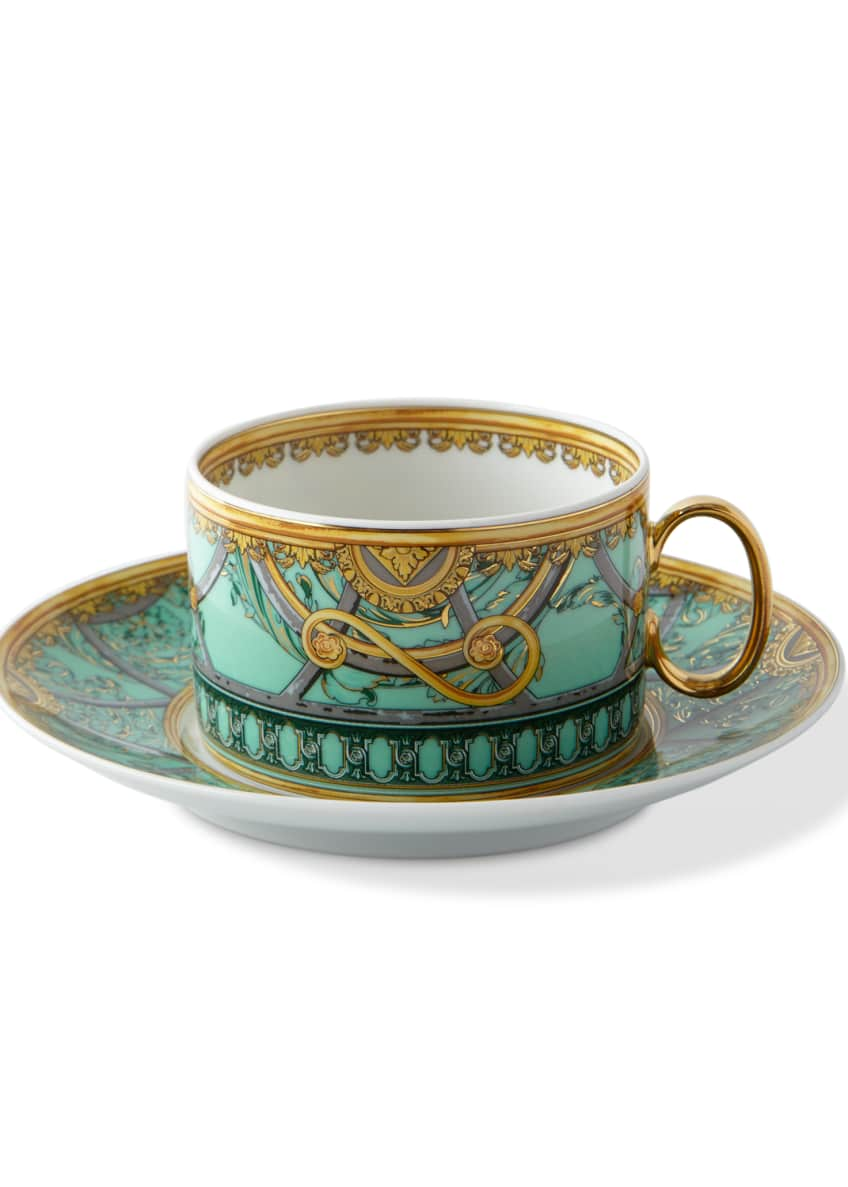 Image 1 of 2: La Scala del Palazzo Cup and Saucer