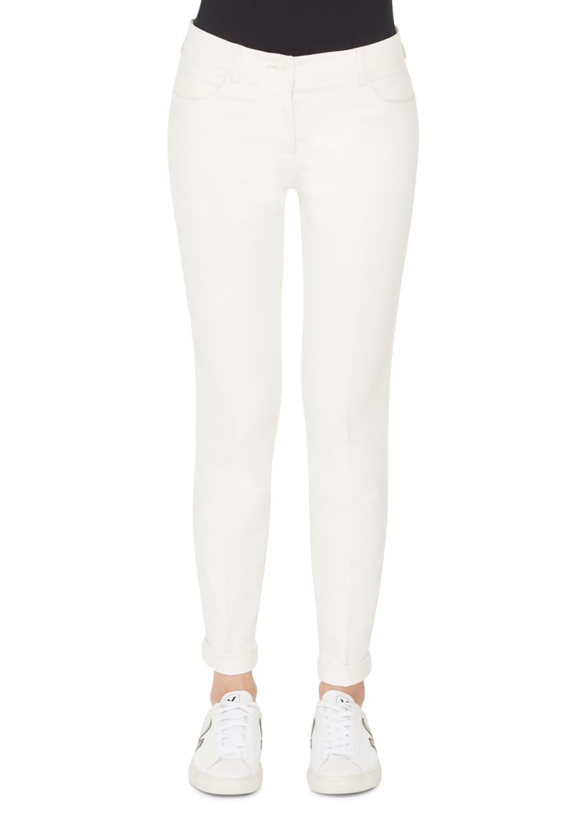 Akris Double-Face Cashmere Clean-Line Coat & Matching Items
