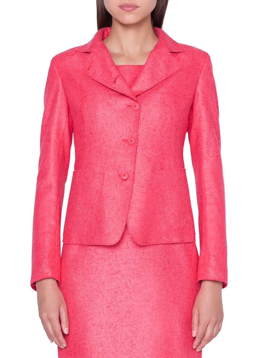 Akris Cashmere/Silk Panama Weave Jacket & Matching Items