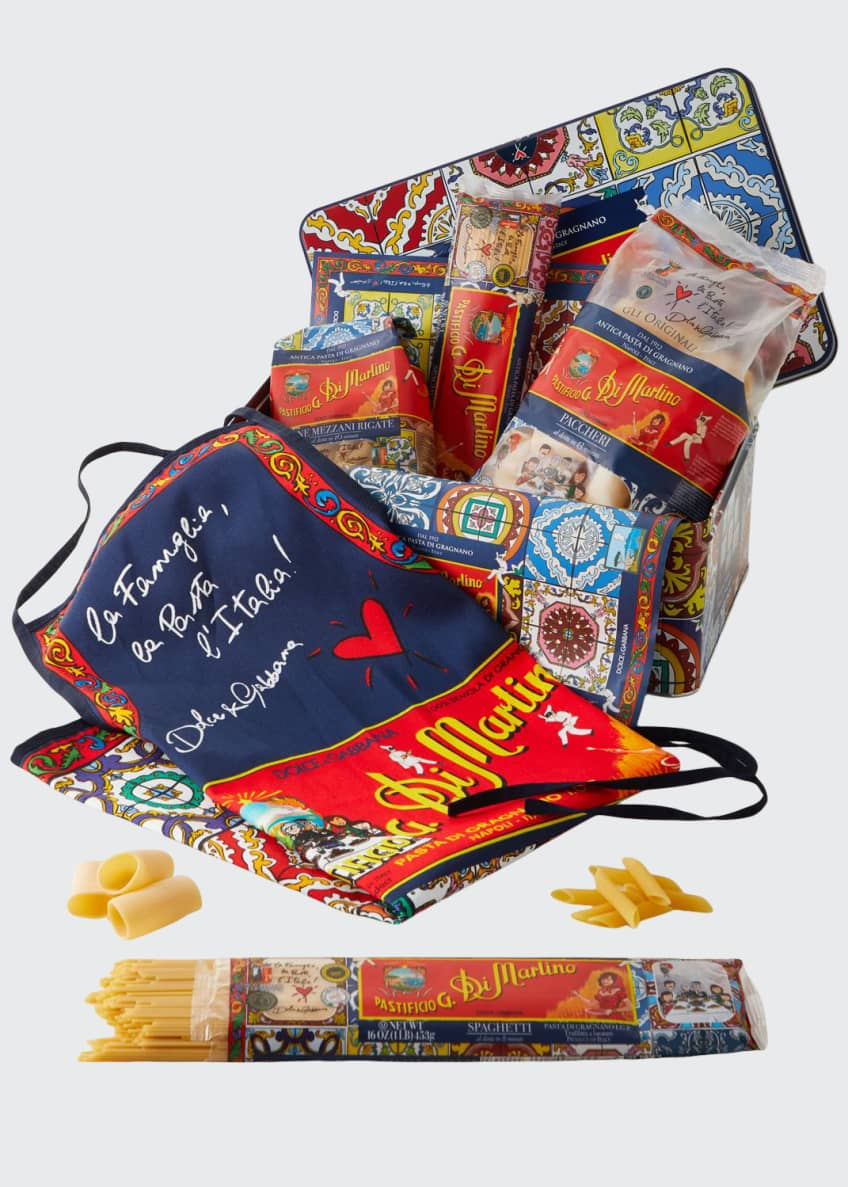 Image 1 of 2: Dolce & Gabbana Pasta & Apron Tin Box Set