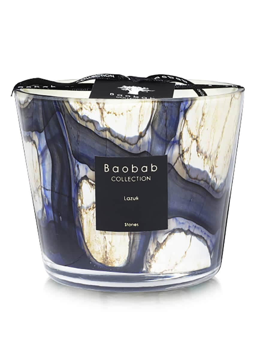 Baobab Collection Stones Lazuli Candle, 4