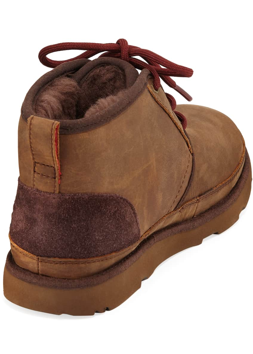 Image 4 of 4: Neumel II Waterproof Lace-Up Boots, Kids