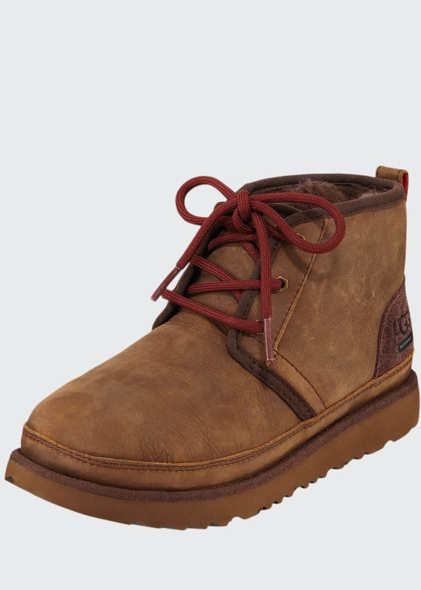 Image 1 of 4: Neumel II Waterproof Lace-Up Boots, Kids