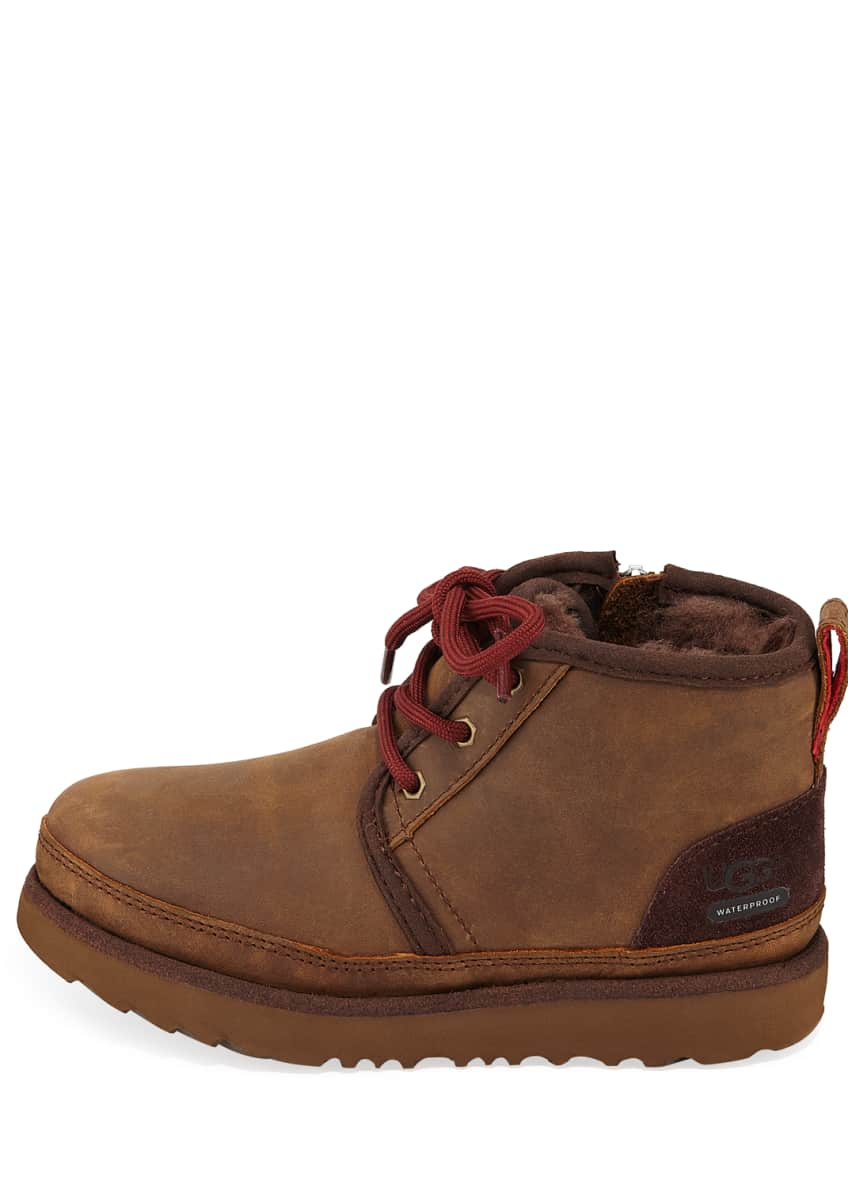 Image 2 of 8: Neumel II Waterproof Lace-Up Boots, Toddler