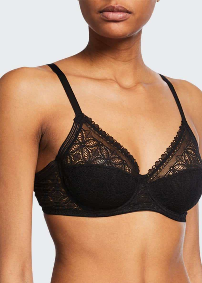 Image 1 of 2: Chloe High-Apex Full-Cup Underwire Bra