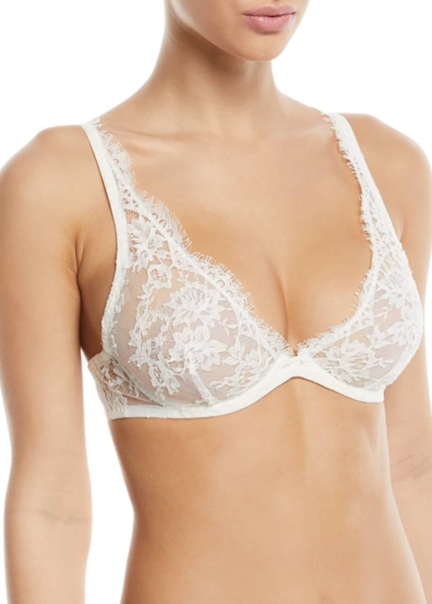 I.D. Sarrieri Fantasia Underwire Triangle Bra & Matching