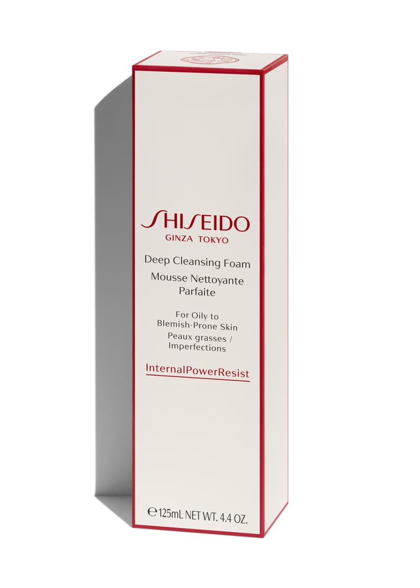 Shiseido Deep Cleansing Foam, 4.2 oz./ 125 mL - Bergdorf Goodman