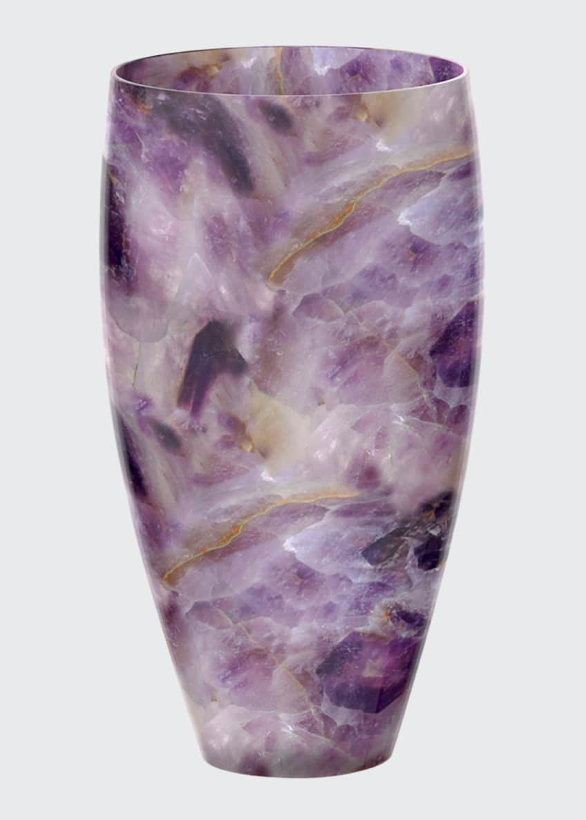 ANNA New York Forza Gemstone Medium Vase