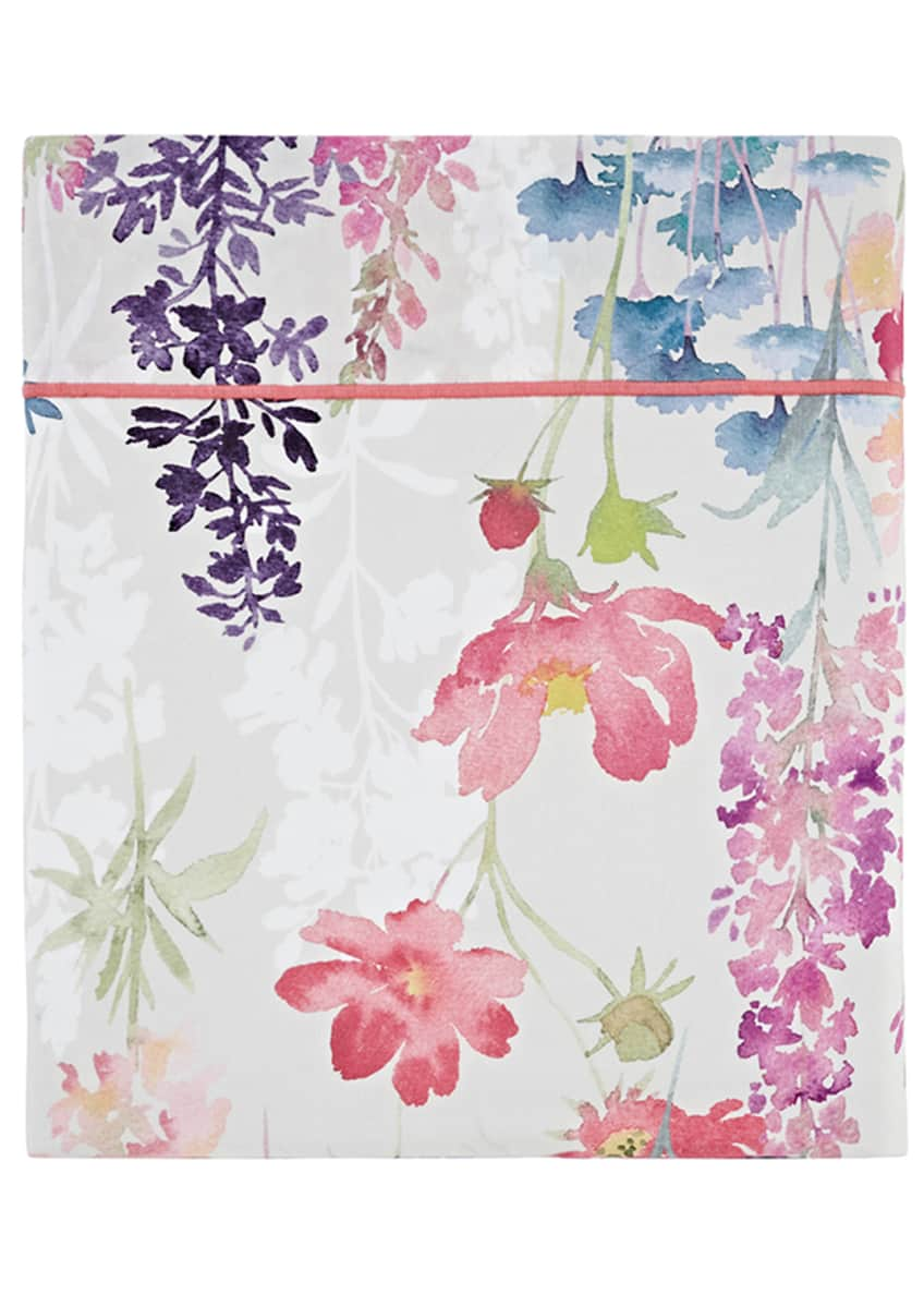 Anne de Solene Babylone 200 Thread-Count Floral King