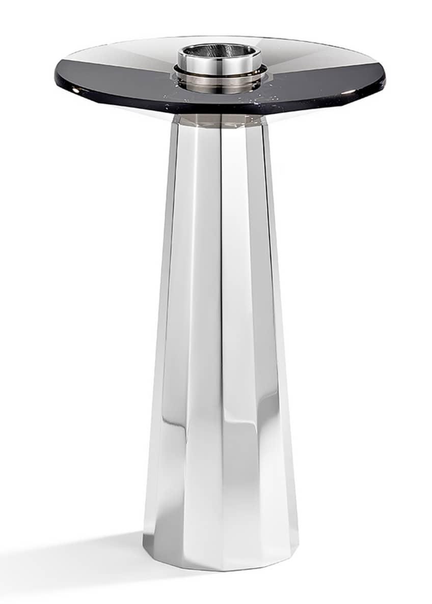 Atelier Swarovski Medium Plinth Candleholder, Black
