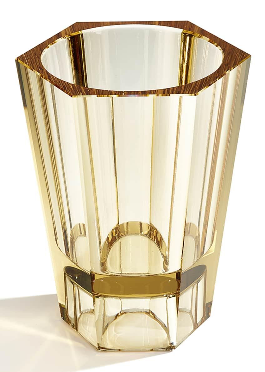 Atelier Swarovski Large Reversible Crystal Vase, Topaz