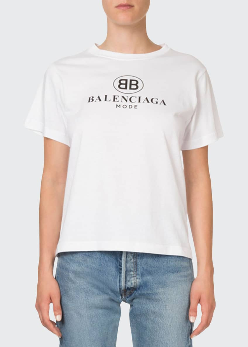 Balenciaga BB Logo Graphic T-Shirt & Matching Items