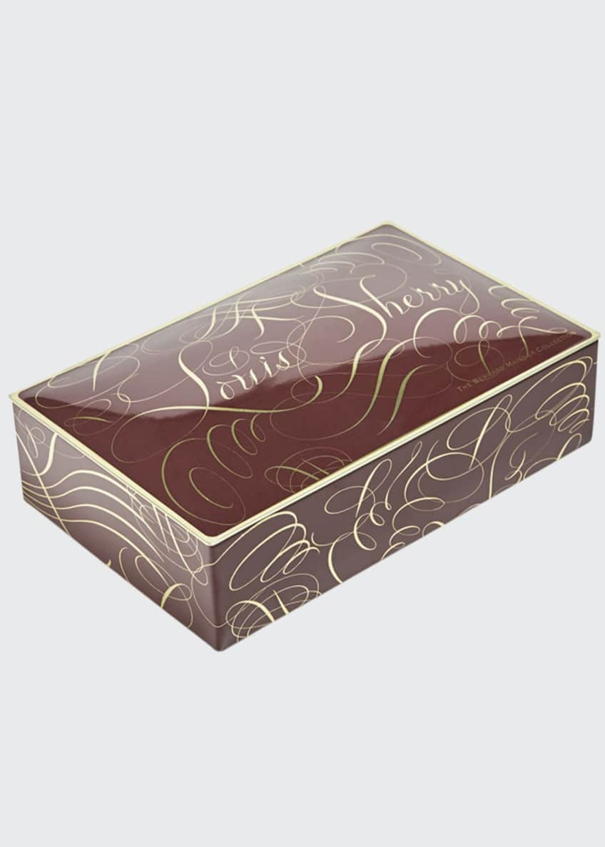 Image 1 of 1: Calligraphy 12-Piece Assorted Chocolate Truffle Tin