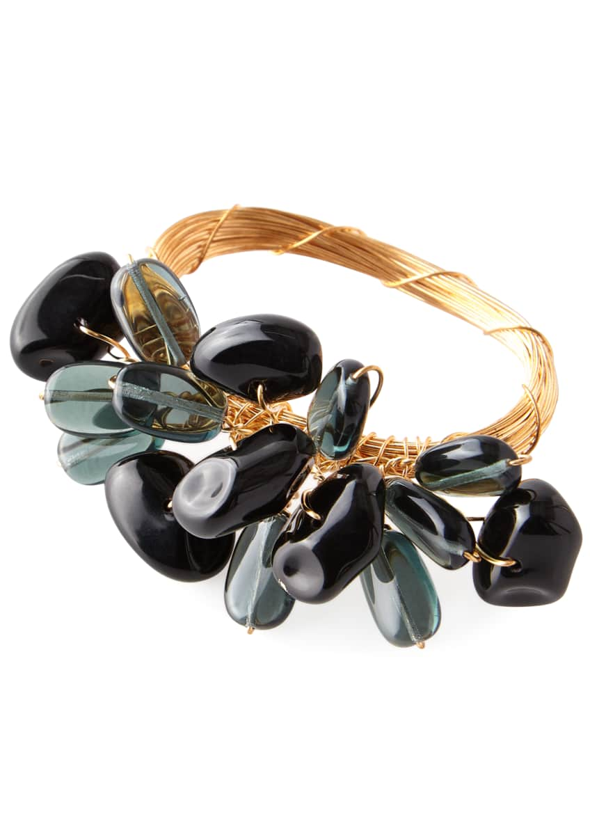 Image 1 of 1: Mixed Rock Cluster Napkin Ring