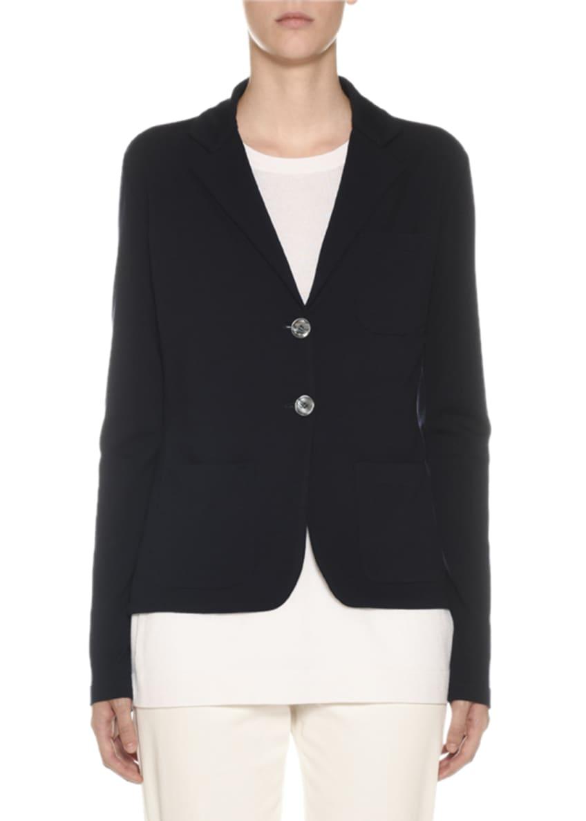 Agnona Two-Button Merino Wool Jacket & Matching Items