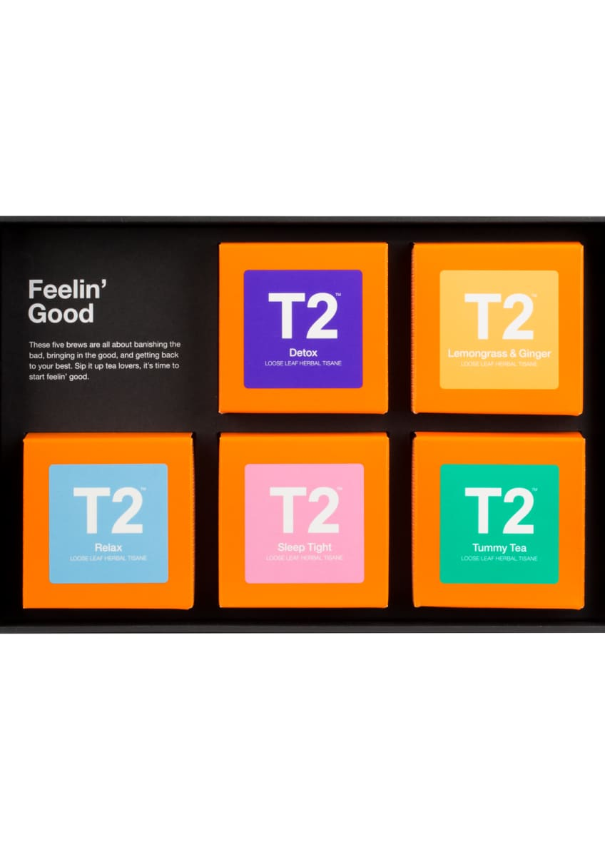 Image 2 of 2: T2 Five Feelin' Good Tea Box