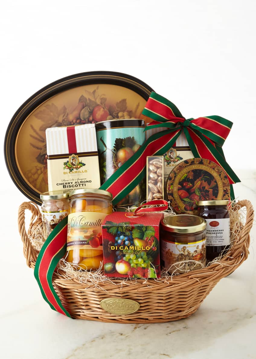 Image 1 of 1: Deluxe Oval Gift Basket