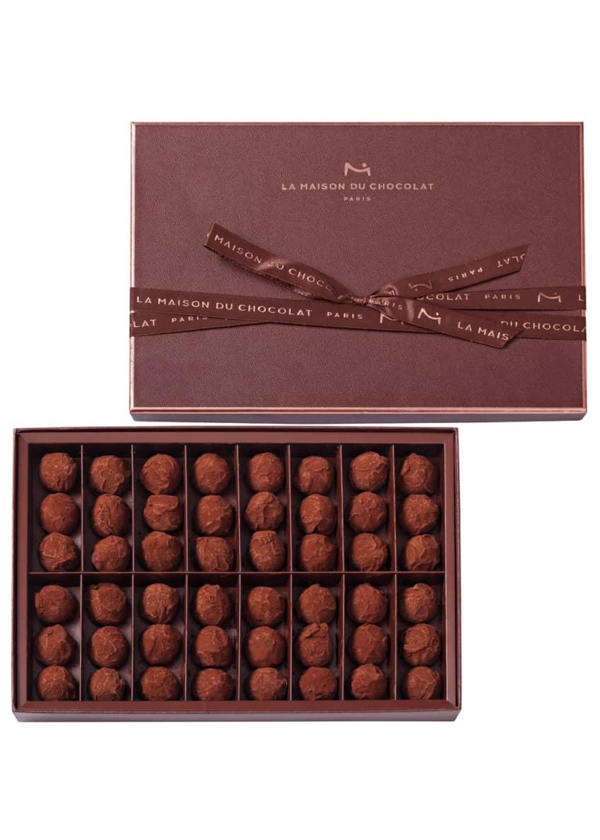La Maison Du Chocolat 48-Piece Dark Chocolate Truffles