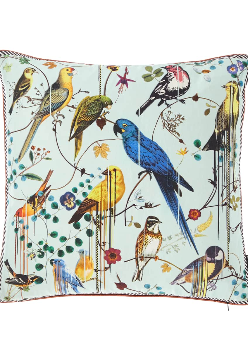 Image 2 of 3: Birds Sinfonia Pillow
