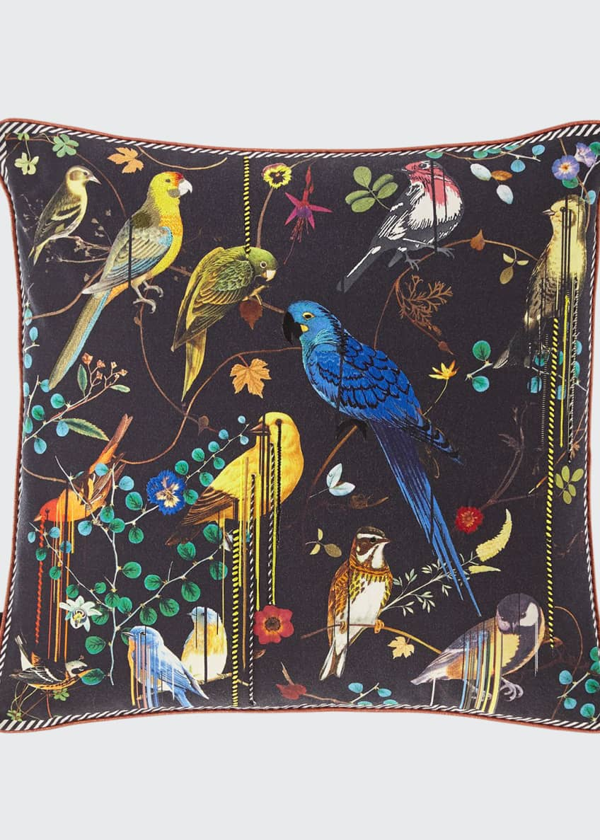 Image 1 of 3: Birds Sinfonia Pillow