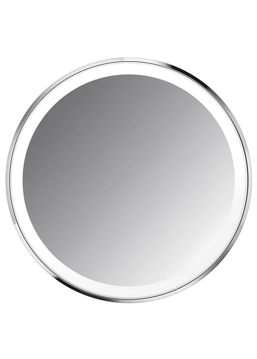 "Image 2 of 5: 4"" Sensor Mirror Compact, White"