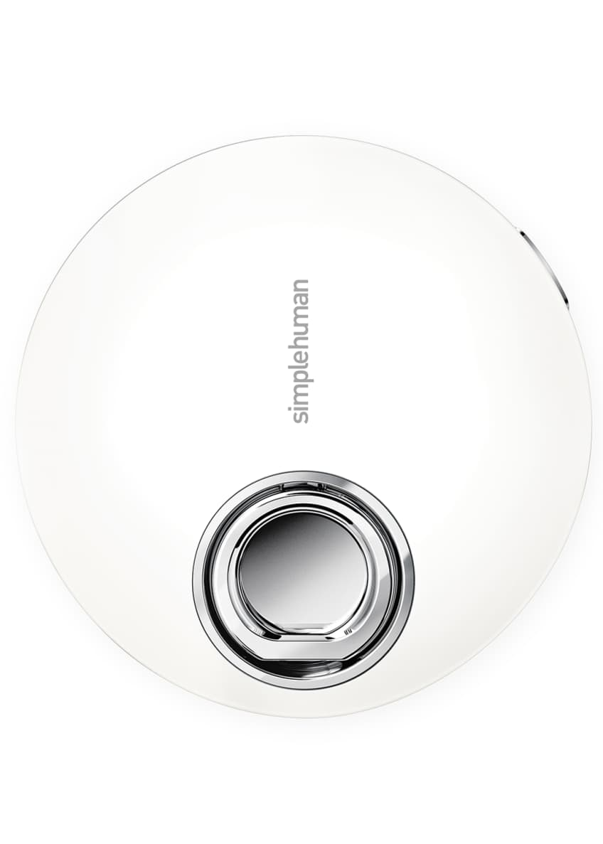 "Image 3 of 5: 4"" Sensor Mirror Compact, White"