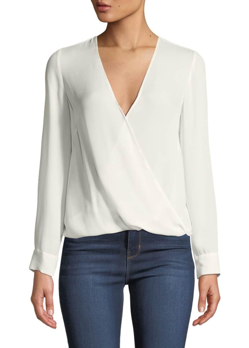 L'Agence Kyla Long-Sleeve Wrap Top & Matching Items