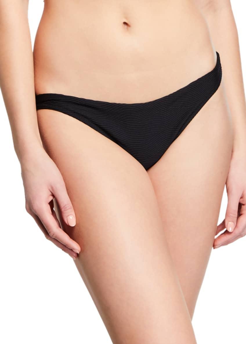Milly Santorini Center-Ring Halter Bikini Top & Matching