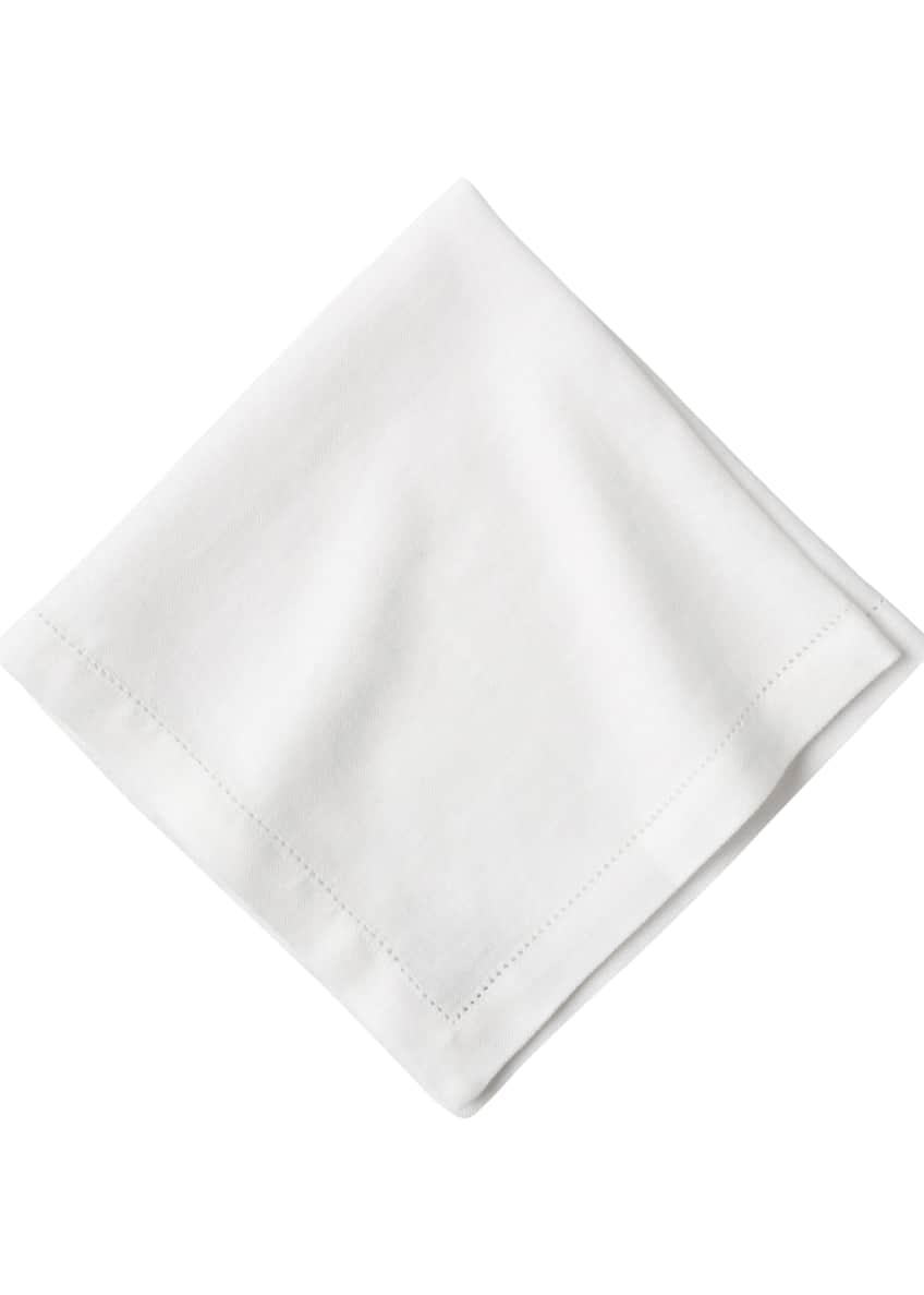 Image 1 of 3: Heirloom Linen Napkin, White