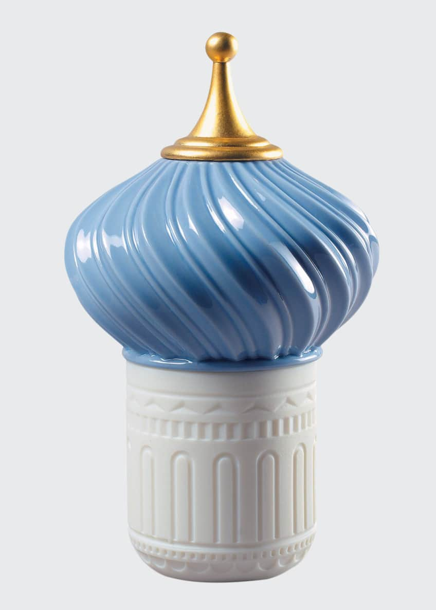 Lladro Mauve Spire 1001 Lights Candle