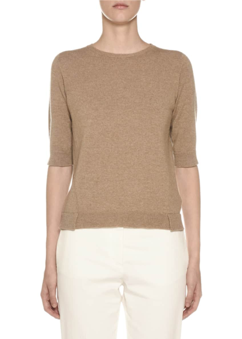Agnona Cashmere Open-Front Poncho Cardigan & Matching Items
