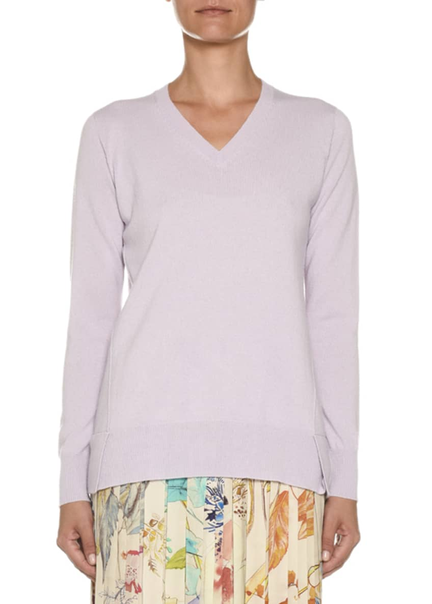 Agnona V-Neck Cashmere-Knit Sweater & Matching Items